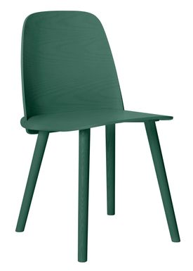 Muuto - Stol - Nerd Chair - Green