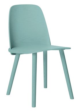 Muuto - Stol - Nerd Chair - Tourqoise