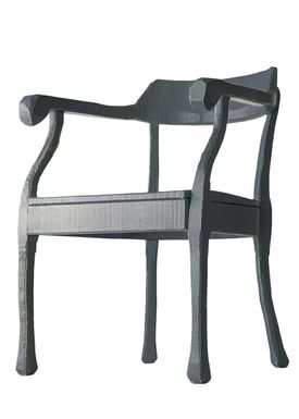 Muuto - Stol - Raw Lounge Chair - Mørk Grå