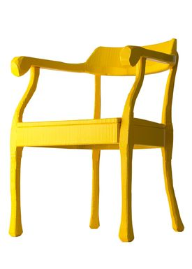 Muuto - Stol - Raw Lounge Chair - Gul