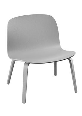 Muuto - Chair - Visu Lounge Wood - Grey