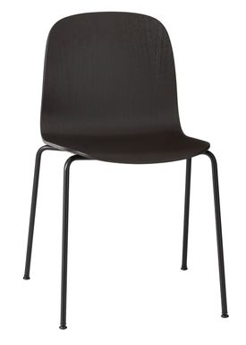 Muuto - Chair - Visu Tube Base - Black