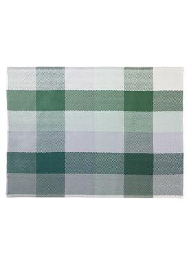 Muuto - Tæppe - Loom Blanket - Grøn