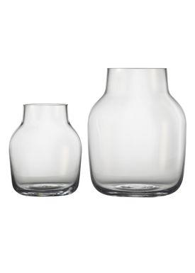 Muuto - Vase - Silent Vase - Small - Klar