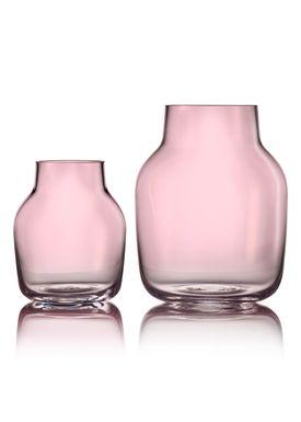 Muuto - Vase - Silent Vase - Small - Rosa
