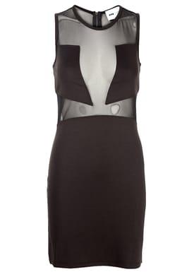 POP cph - Kjole - Neoprene Cutout Dress - Sort