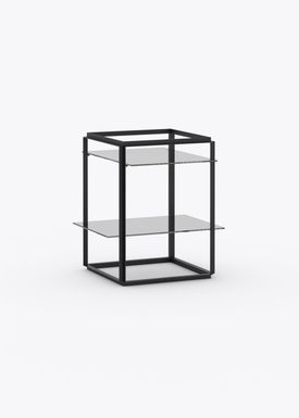 New Works - Hylde - Florence Shelf / Sidetable - Small - Iron Black