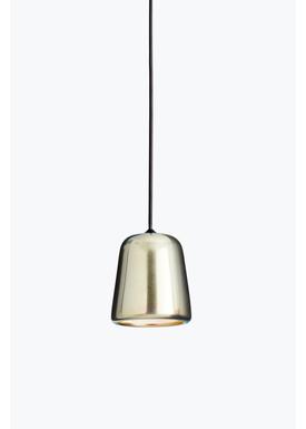 New Works - Lampe - Material Pendant - Gul stål