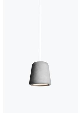 New Works - Lampe - Material Pendant - Lys grå beton