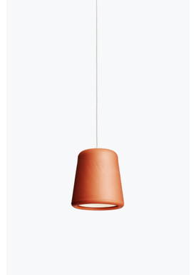 New Works - Lampe - Material Pendant - Terrakotta