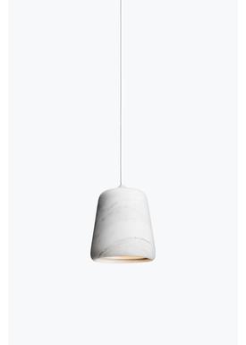 New Works - Lampe - Material Pendant - Hvid marmor