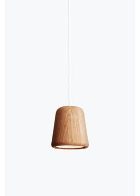 New Works - Lampe - Material Pendant - Natural eg