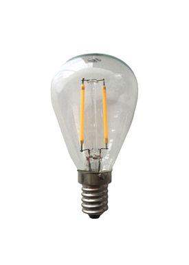 New Works - Pærer - LED Filament Light Bulb - Smoked glass
