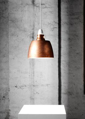 New Works - Pendants - Hang On Honey - Raw Copper