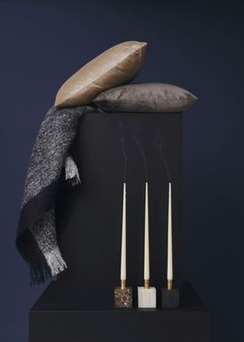 New Works - Pude - Velvet Cushion - By Malene Birger - Sand