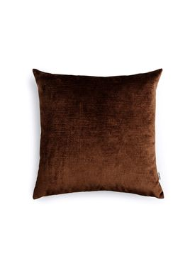 New Works - Cushion - Velvet Cushion - By Malene Birger - Dark Brown