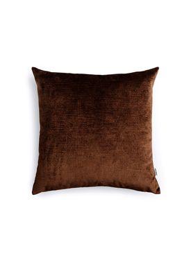 New Works - Pude - Velvet Cushion - By Malene Birger - Dark Brown