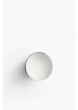 New Works - Mirror - Aura Wall Mirror - Rustfrit skål