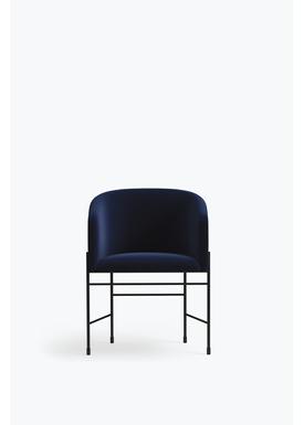 New Works - Chair - Covent Chair - Iron Black Frame, Byram / Haakon 2, 792,