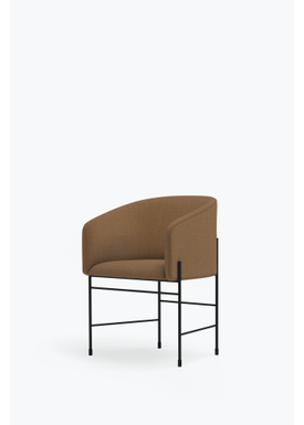 New Works - Chair - Covent Chair - Iron Black Frame, Kvadrat Remix, 433,