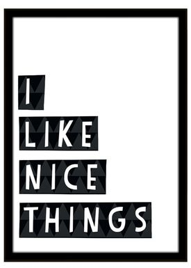 Seventy Tree - Poster - Nice Things 30X40 - Black