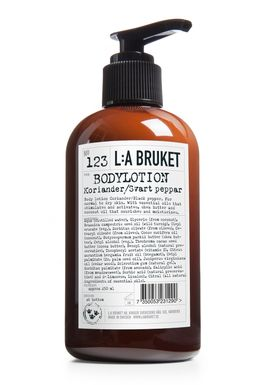 L:A Bruket - Body Lotion - No. 113 Body Lotion Coriander/Black Pepper - Neutral
