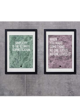 LOVE A FOX - Poster - No One Loves It Poster - Marble