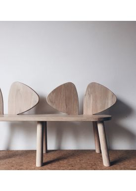 NOFRED - Bænk - Mouse Bench - Oak