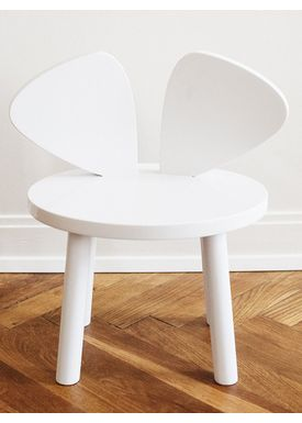 NOFRED - Børnestol - Mouse Chair - White