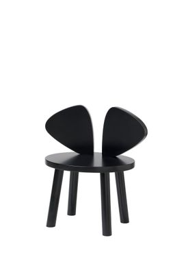 NOFRED - Børnestol - Mouse Chair - Black