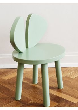 NOFRED - Børnestol - Mouse Chair - Mint