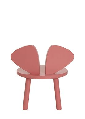 NOFRED - Børnestol - Mouse Chair - Rosa