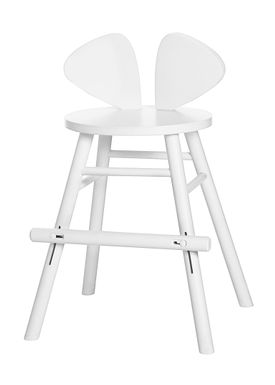 NOFRED - Børnestol - Mouse Chair Junior - White