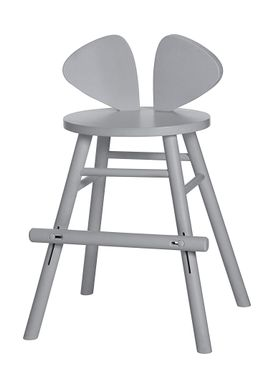 NOFRED - Børnestol - Mouse Chair Junior - Grey