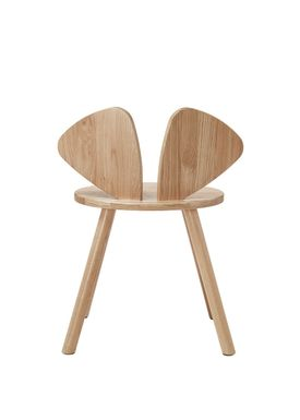 NOFRED - Børnestol - Mouse Chair School - Lakeret Eg