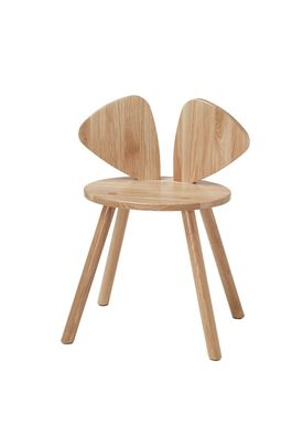 NOFRED - Kids chair - Mouse Chair School - Lacquered Oak
