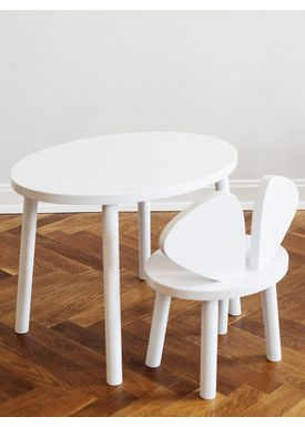 NOFRED - Table - Mouse Table - White