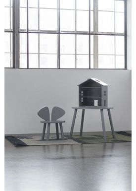 NOFRED - Table - Mouse Table - Grey