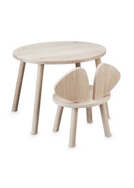 NOFRED - Table - Mouse Table - Oak