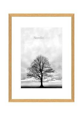 Nordic Line - Rammer - Slim / Solid / Wood - Oak / 30 x 40