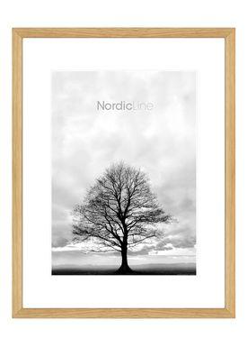 Nordic Line - Rammer - Slim / Solid / Wood - Solid Oak / 50 x 70