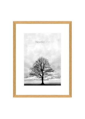 Nordic Line - Rammer - Slim / Solid / Wood - Oak / A4