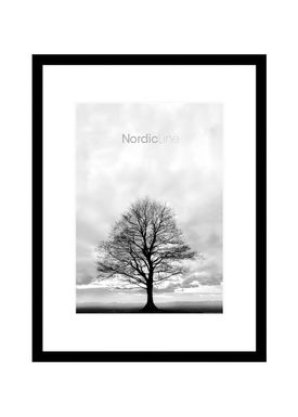 Nordic Line - Rammer - Slim / Solid / Wood - Matt Black / A3