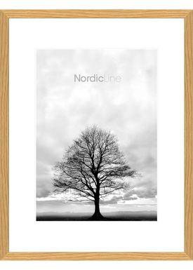 Nordic Line - Rammer - Slim / Solid / Wood - Solid Oak / 70 x 100