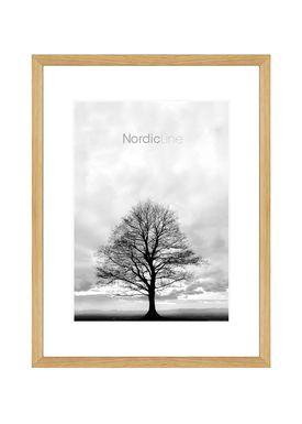 Nordic Line - Rammer - Slim / Solid / Wood - Solid Oak / A3