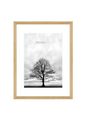 Nordic Line - Rammer - Slim / Solid / Wood - Solid Oak / A4