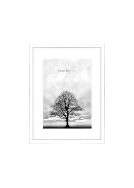Nordic Line - Rammer - Slim / Solid / Wood - Matt White / A5
