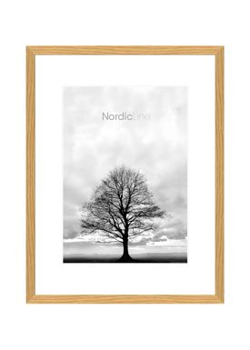 Nordic Line - Rammer - Slim / Solid / Wood - Oak / A3