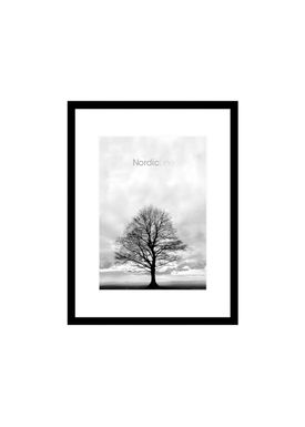 Nordic Line - Frames - Slim - Solid - Wood - Matt Black / A5