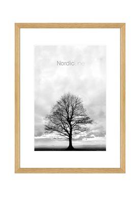 Nordic Line - Frames - Slim - Solid - Wood - Solid Oak / 30 x 40